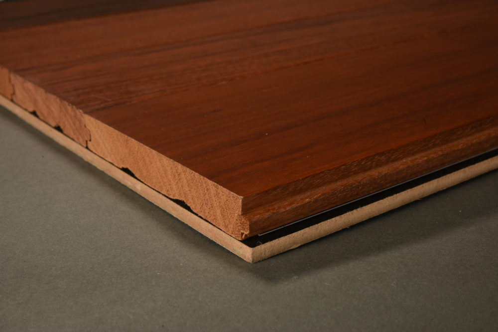 "Decorus BRAZILIAN CHERRY, NATURAL 3 5/8 + 5"" SOLID"